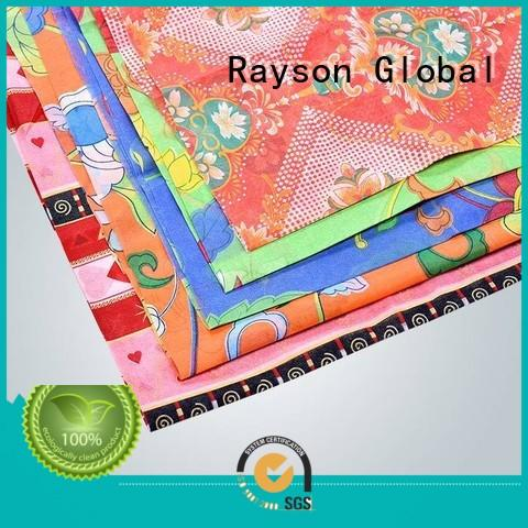 rayson nonwoven,ruixin,enviro Brand colthes by nowoven spunlace nonwoven fabric suppliers colth