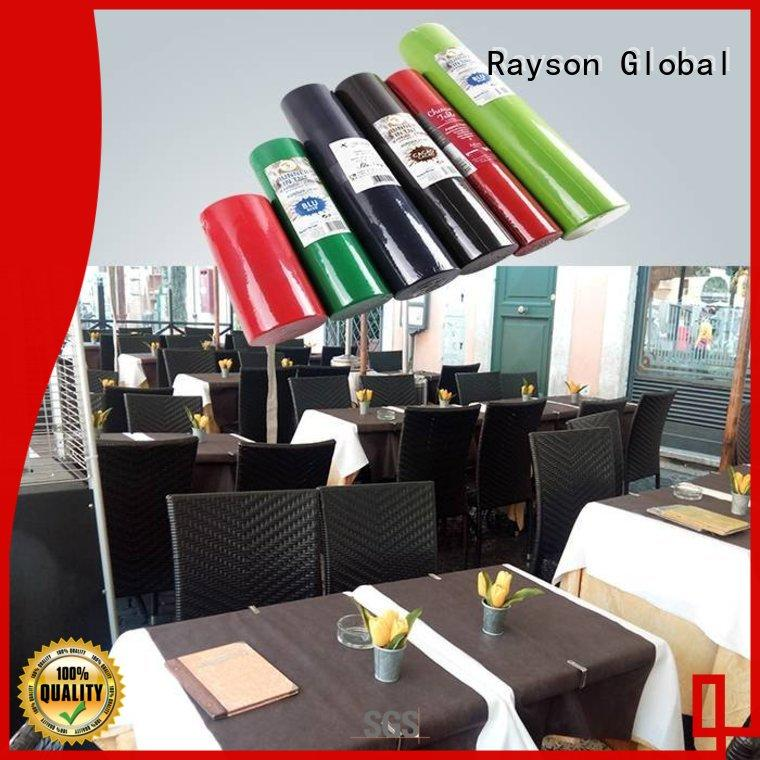 made gsm tnt tablecloth heat rayson nonwoven,ruixin,enviro Brand