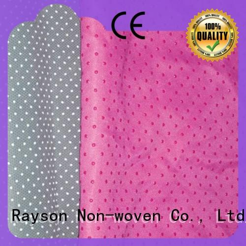rayson nonwoven,ruixin,enviro recyclable non woven fabric manufacturing machine supplier for toilet