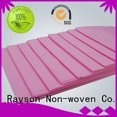 dry sale hydrophilic water non woven material rayson nonwoven,ruixin,enviro Brand