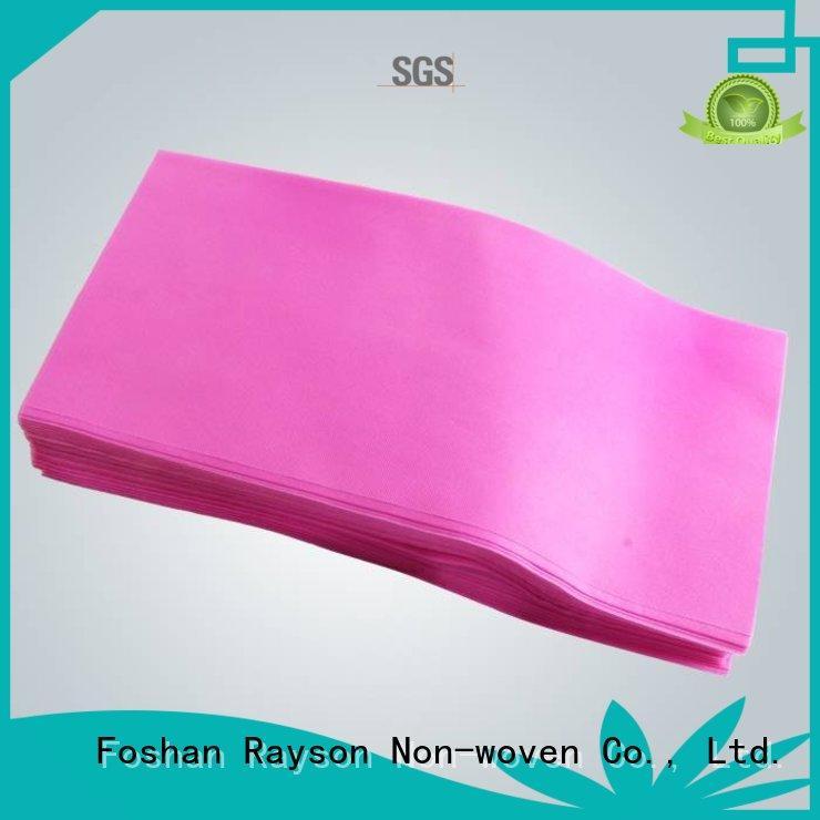 tejido mr examination rayson nonwoven,ruixin,enviro Brand non woven tablecloth