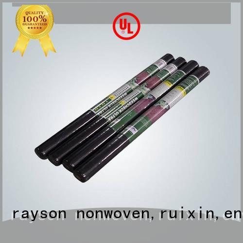 Rayson nonwoven, ruixin, enviro लॉन गैर बुना भू टेक्सटाइल कपड़े कीमत श्रृंखला खेत के लिए