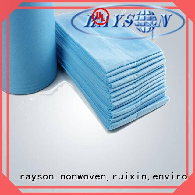 rayson nonwoven,ruixin,enviro antibacterial carver non woven series for bedroom