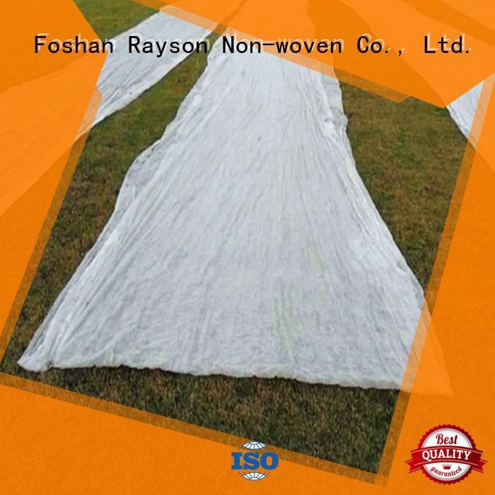 Rayson nonwoven,ruixin,enviro स्थिर परिदृश्य कपड़े कीमत फैक्टरी मूल्य कपड़ों के लिए
