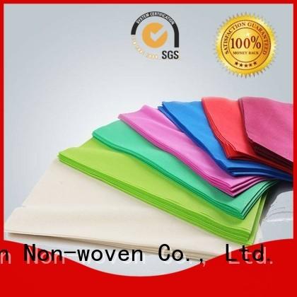 meter colors label non woven tablecloth rayson nonwoven,ruixin,enviro