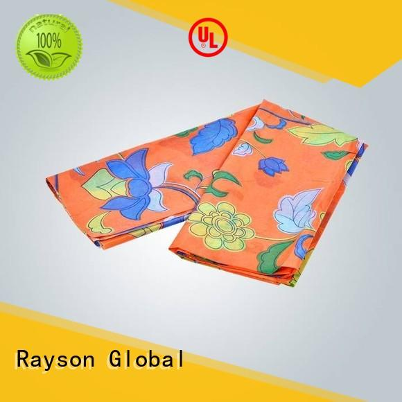 rayson nonwoven,ruixin,enviro distance non woven fabric raw material series for tablecloth