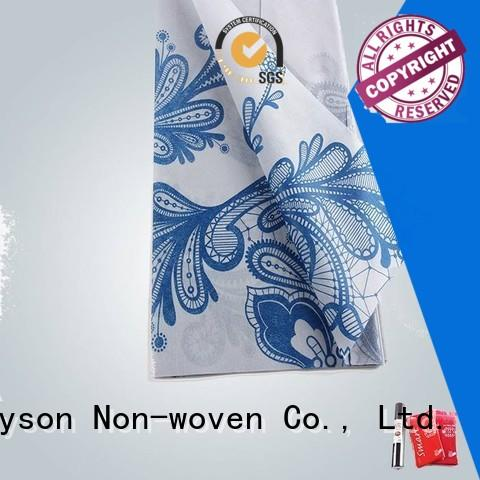 Custom beautiful non woven fabric manufacturing machine cost flowers rayson nonwoven,ruixin,enviro
