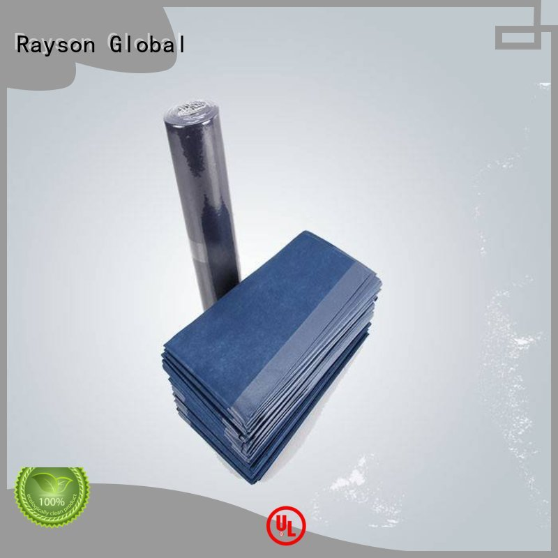 cut color buy non woven polypropylene fabric reusable disposable rayson nonwoven,ruixin,enviro Brand