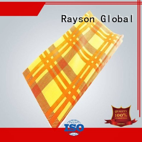 cloth hotel customize OEM printed table covers rayson nonwoven,ruixin,enviro