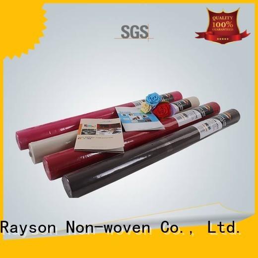 non woven polypropylene fabric suppliers comfortable banquet 5m Warranty rayson nonwoven,ruixin,enviro