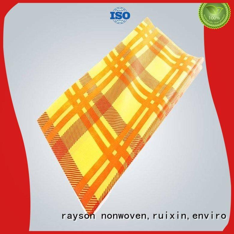 Rayson 부직포, ruixin, 환경 우아한 비 짠 천을 제조 업체 문의 지금 홈