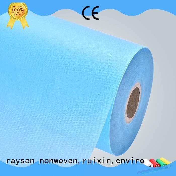 Rayson 부직포, ruixin, 환경 소재 바늘 펀치 부직포 제조 bedsheet