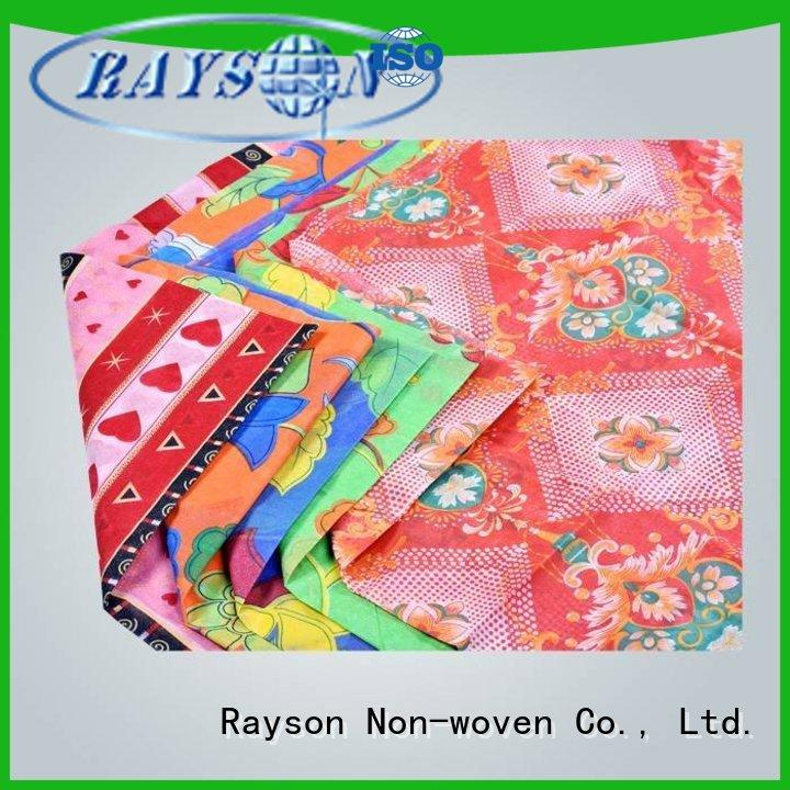 rayson nonwoven,ruixin,enviro banquet rfl non woven fabric wholesale for tablecloth