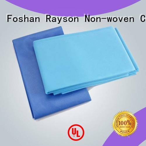 antibacterial disposable non woven bed sheet 110210cm directly sale for household