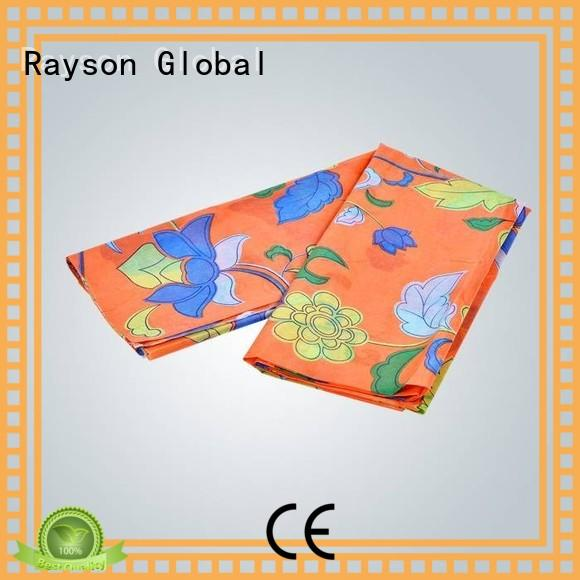 rayson nonwoven,ruixin,enviro banquet 6 oz non woven geotextile fabric factory for tablecloth