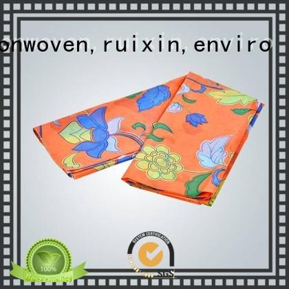 rayson nonwoven,ruixin,enviro disposable 6 oz non woven geotextile fabric directly sale for table