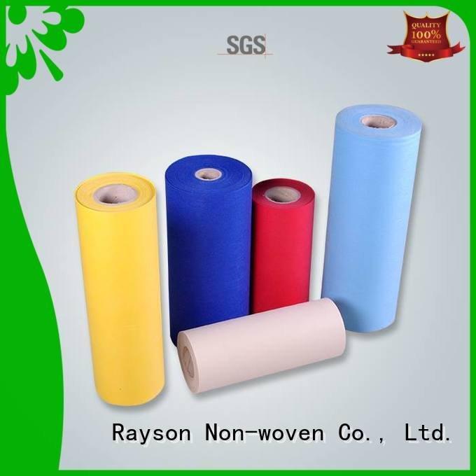 rayson nonwoven,ruixin,enviro Brand technical hospital spunbond nonwoven fabric free 10g