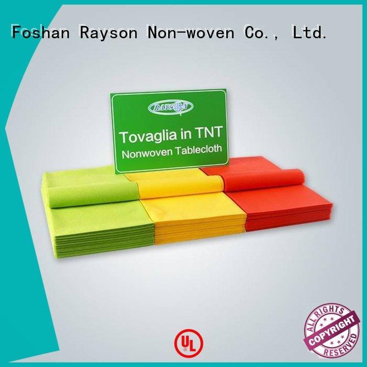 rayson nonwoven,ruixin,enviro Brand sheet stores non woven cloth