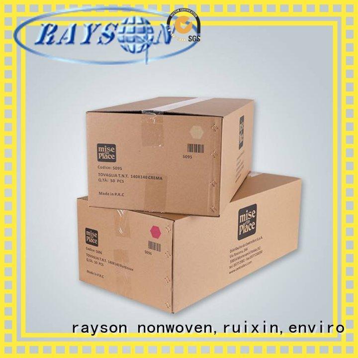 non woven bag supplier monouso technology rayson nonwoven,ruixin,enviro Brand