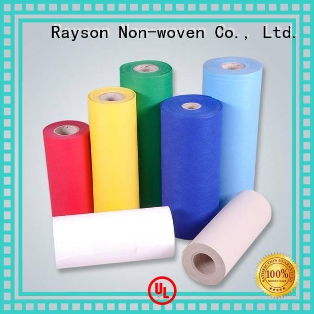 rayson nonwoven, ruixin, enviro ब्रांड 16m 200 गैर बुना पॉलीप्रोपीलीन मूल्य का कारखाना