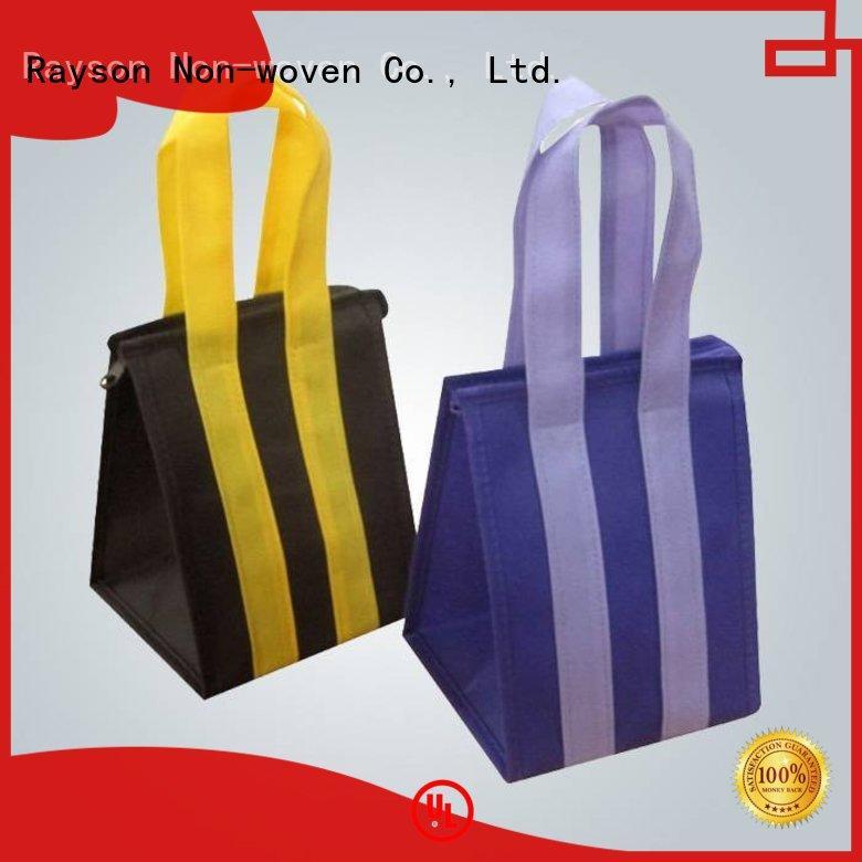 Rayson não tecida, ruixin, enviro reciclar não tecido sacos de pó informe agora para o interior