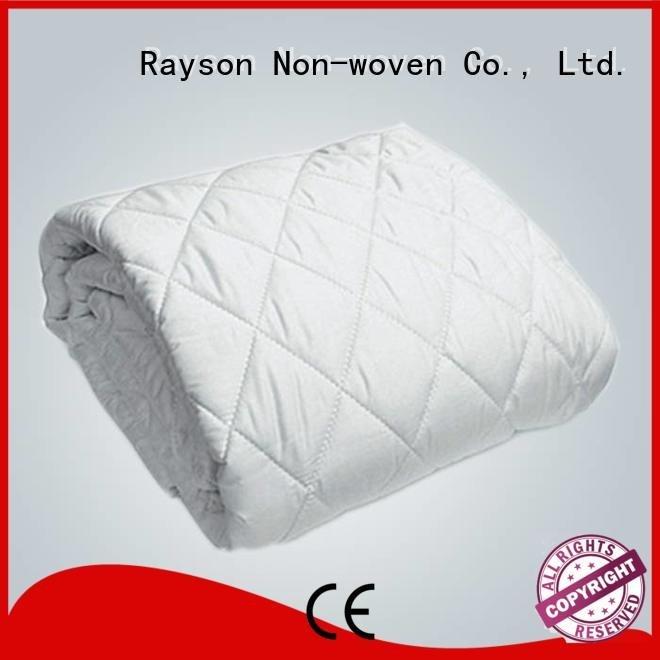 rayson nonwoven,ruixin,enviro non woven fabric roll price protector fitted soft pad