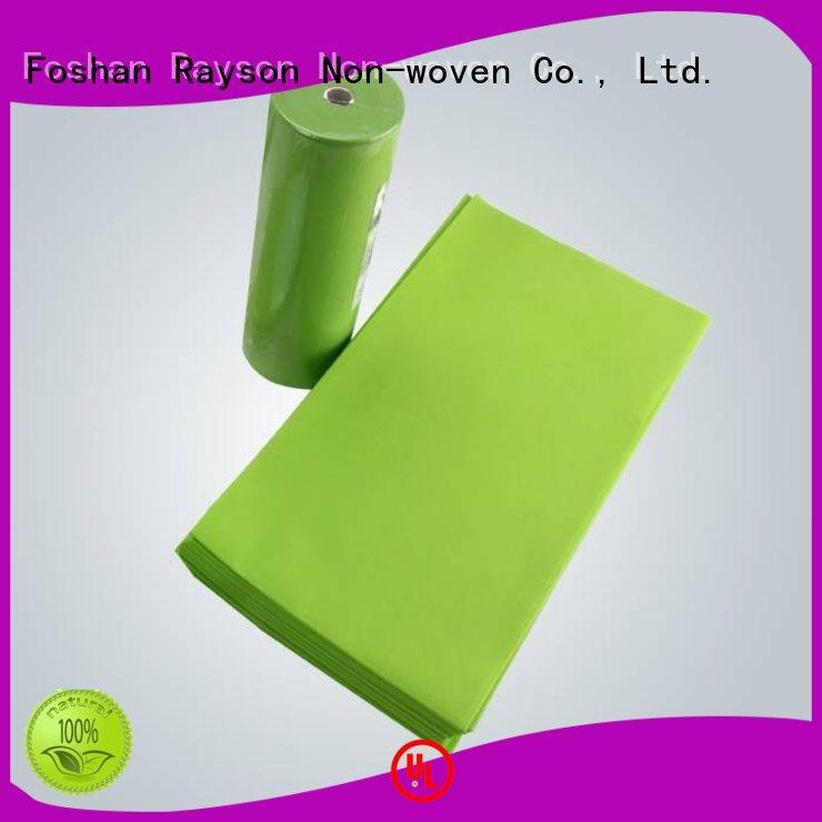 selling pp non woven fabric price piece rayson nonwoven,ruixin,enviro company