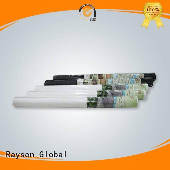 Tessuto personalizzato da giardino professionale in rayon non tessuto, ruixin, polipropilene enviro