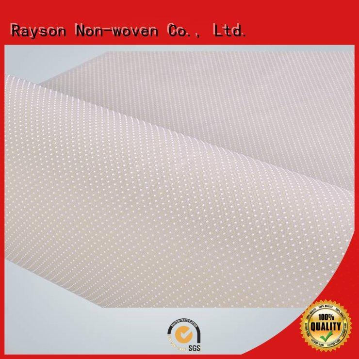 Rayson non-tissé, ruixin,enviro fabrication mms non-tissé usine prix pour salle de bain