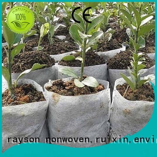 permeability cerficate flower garden fabric anti rayson nonwoven,ruixin,enviro Brand