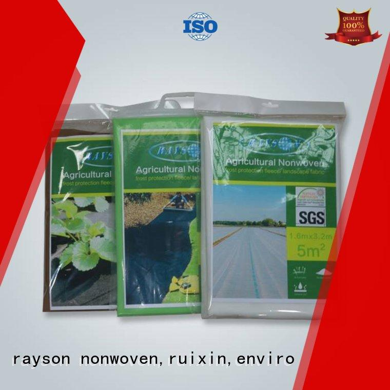 test spunbond landscape fabric drainage degragation color rayson nonwoven,ruixin,enviro Brand