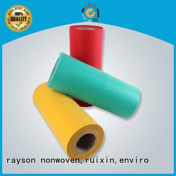 rayson nonwoven,ruixin,enviro sofa 50cm hospital spunbond nonwoven fabric latest