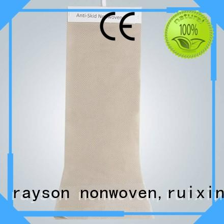 rayson nonwoven,ruixin,enviro Brand 100 friendly perforate nonwovens companies wrapping