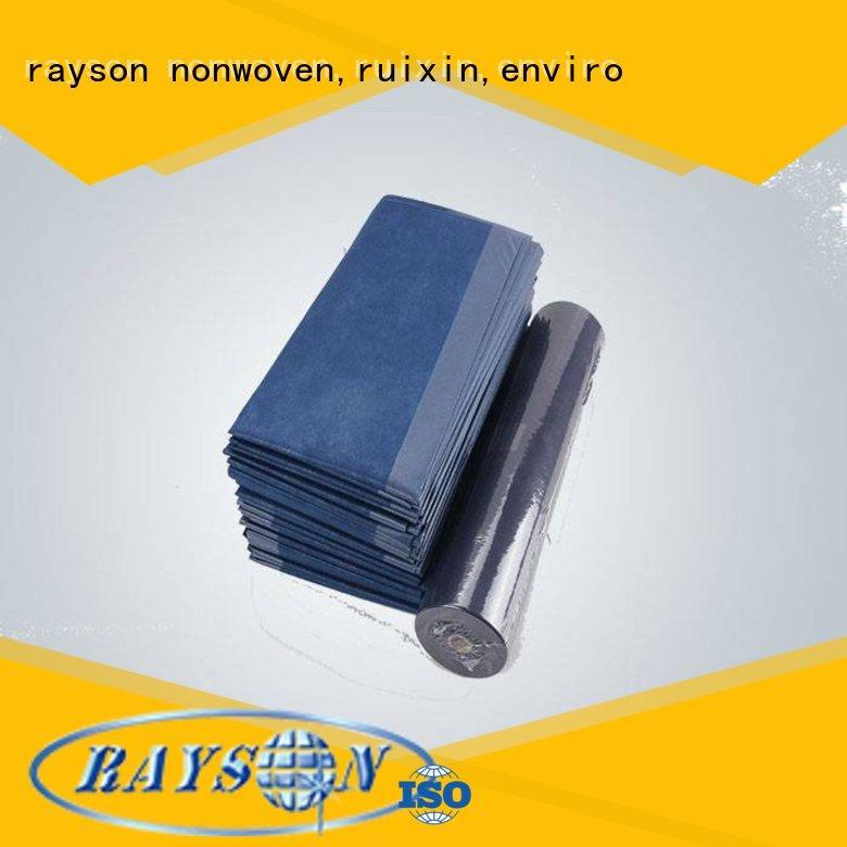 pink non woven polyester fabric manufacturer spunbond air rayson nonwoven,ruixin,enviro Brand