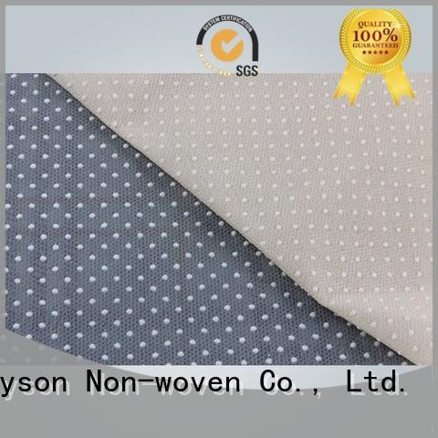 Rayson no tejido, ruixin,enviro tela antideslizante fabricantes de China para zapatillas