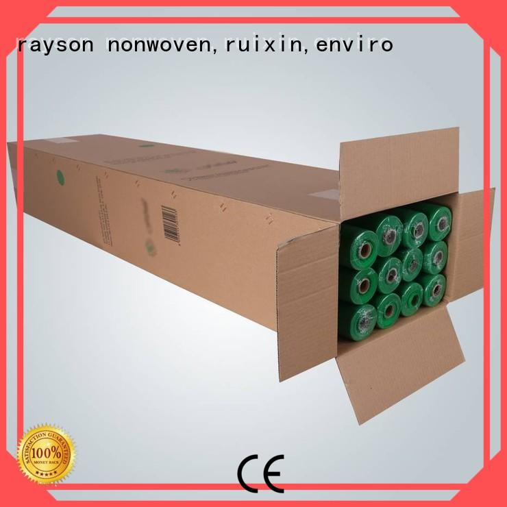 Rayson Vlies, Ruixin, Enviro Brand Rayson rosa benutzerdefinierte nicht gewebte Polypropylen Stoff Lieferanten