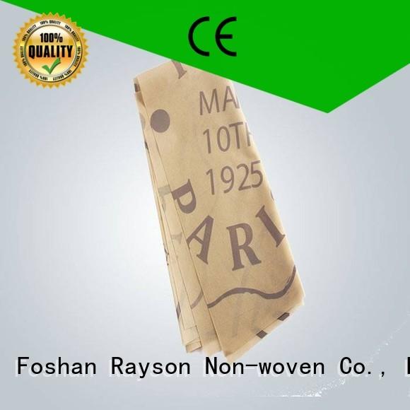 pp non woven fabric manufacturer certificate live non rayson nonwoven,ruixin,enviro Brand printed table covers