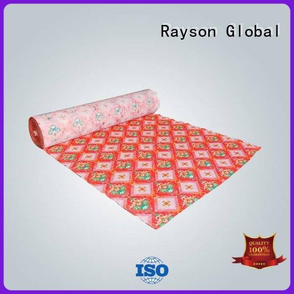 rayson nonwoven,ruixin,enviro colorful non woven fusible interlining directly sale for bedding