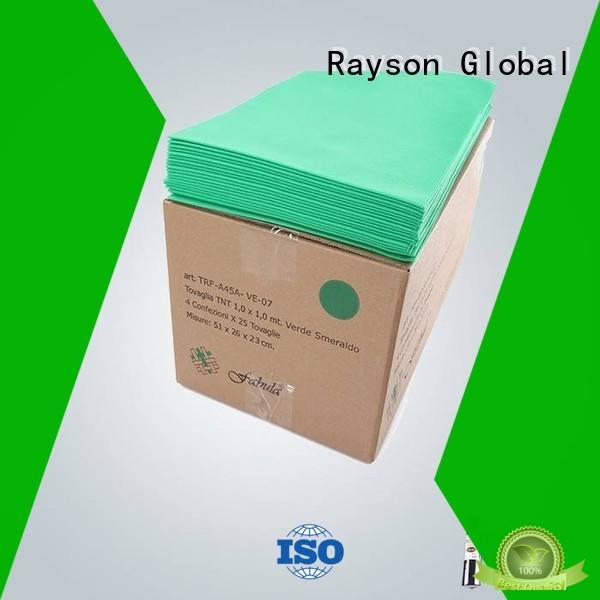 Wholesale live 1mx1m non woven tablecloth rayson nonwoven,ruixin,enviro Brand