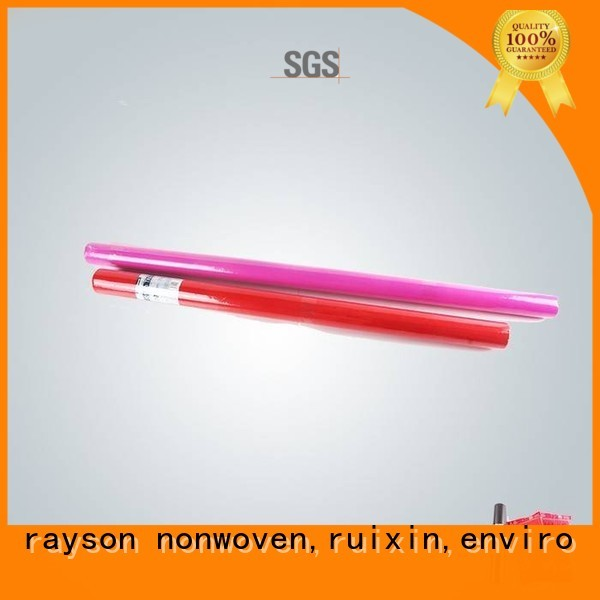 rayson nonwoven,ruixin,enviro Brand 24m uniformity custom non woven cloth