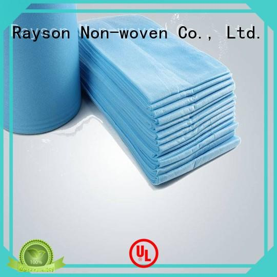 waterproof non-woven clothes moq wholesale for bed sheet
