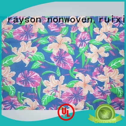 banquet non woven fabric raw material 90gram factory for tablecloth