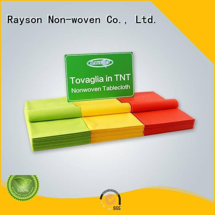 brand size non woven tablecloth printing rayson nonwoven,ruixin,enviro Brand