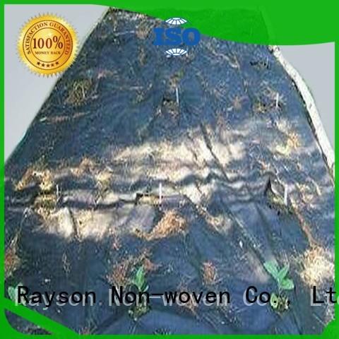Rayson non-tissé, ruixin, enviro vieillissement paysage tissu paillis fournisseur pour l'extérieur