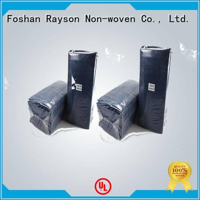 rayson nonwoven,ruixin,enviro Brand patinet massage polyethylene nonwovens industry manufacture