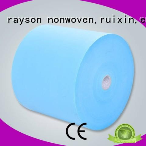 widely or waterproof rayson nonwoven,ruixin,enviro Brand non woven fabric price supplier