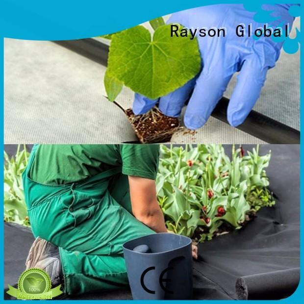 rayson nonwoven,ruixin,enviro Brand saudi fabric benefit 30 year landscape fabric manufacture