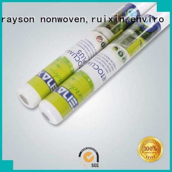 rayson nonwoven,ruixin,enviro Brand small width uae healthy 30 year landscape fabric