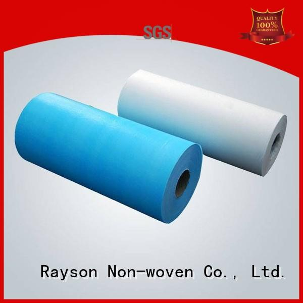 Wholesale sap color buy non woven fabric rayson nonwoven,ruixin,enviro Brand