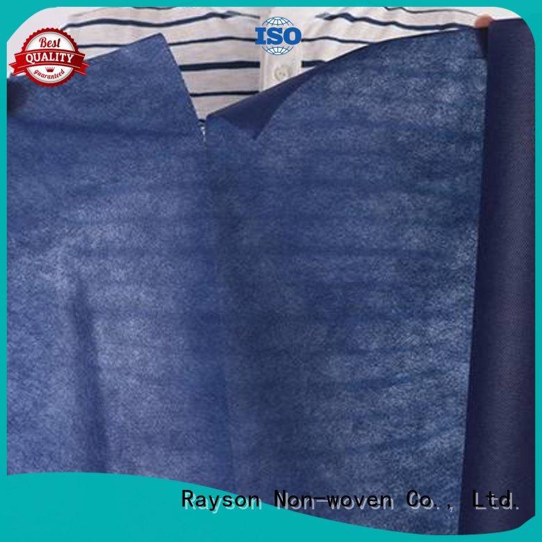 rayson nonwoven,ruixin,enviro Brand red material cloths de tnt tablecloth